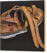 Her Old Shoes Wood Print