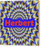 Herbert Wood Print
