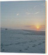 Here Comes The Sun - Wildwood Crest Wood Print