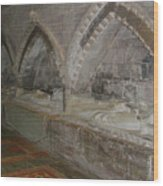 Hereford Cathedral Crypt Wood Print