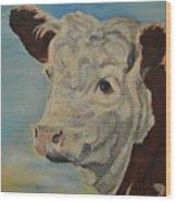 Hereford Profile Wood Print