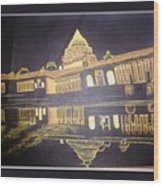 heritage of india - The president house Wood Print
