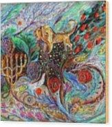 Heritage Series #1. Lion Of Judah Wood Print