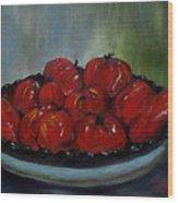 Heritage Tomatoes Wood Print