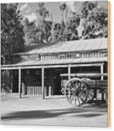 Heritage Town Of Echuca - Victoria Australia Wood Print