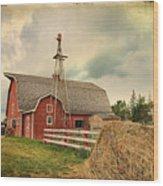 Heritage Village Barn Wood Print