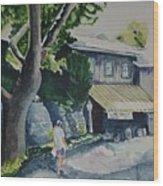 Hermanhouf Stroll Wood Print