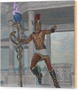 Hermes Messenger To The Gods Wood Print