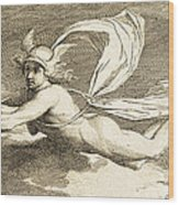 Hermes With Caduceus, 1791 Wood Print