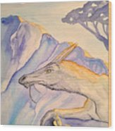 Hermit Wood Print