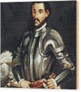 Hernando De Soto Wood Print