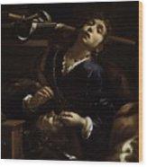 Herodias With The Head  Wood Print