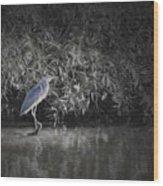 Heron 1 Artistic  Wood Print