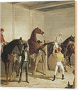 Herring, Racing, 1845 Wood Print