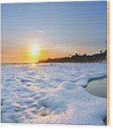 Hesler Sunset Wood Print