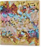 Heterophony Squared 2 Wood Print
