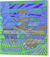 Hexagram 18-ku Wood Print