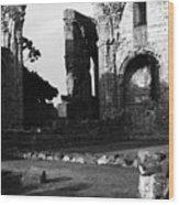 Hexam Abbey In England IIi Wood Print