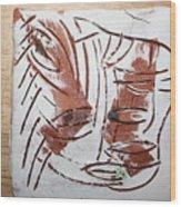 Hey - Tile Wood Print