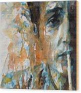 Hey Mr Tambourine Man @ Full Composition Wood Print