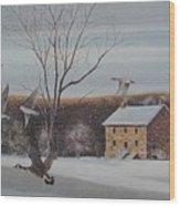 Hezakiah Alexander House  Wood Print by Charles Roy Smith