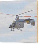 Hh-43b Huskie Wood Print