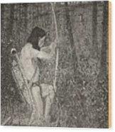 Hiawatha Wood Print