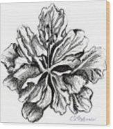 Hibiscus Bloom Wood Print