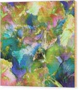 Hibiscus Trumpets Wood Print