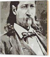 Hickok Wood Print