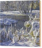 Hickory Nut Grove Landscape Wood Print