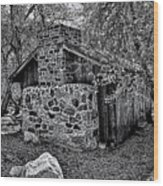 Hidden Cabin Wood Print