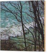 Hidden Cove Wood Print