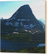 Hidden Lake Overlook Wood Print