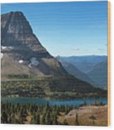 Hidden Lake - Glacier National Park Wood Print