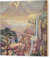 Hidden Southwest Geology  Wood Print