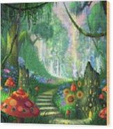 Hidden Treasure Version 2 Wood Print by Philip Straub