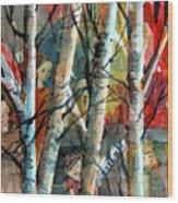 Hide And Go Seek Wood Print