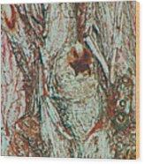 Hiding Figures Wood Print