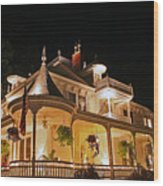 Higdon House Inn Ga Wood Print