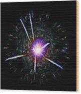 Higgs Boson Wood Print
