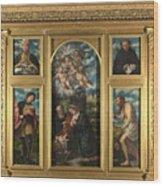 High Altarpiece S Alessandro Brescia Wood Print