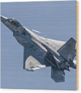 High Angle Of Attack Wood Print