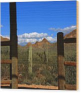 High Chaparral - Mountain View Wood Print