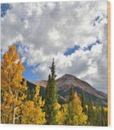 High Country Fall Wood Print