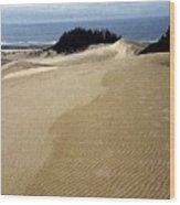 High Dunes 2 Wood Print by Eike Kistenmacher
