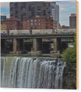 High Falls, Rochester  Wood Print