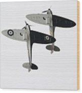 High Key Spitfires Wood Print