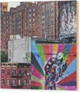 High Line Art Wood Print