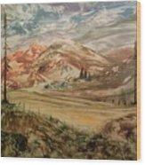 High Meadowland Wood Print